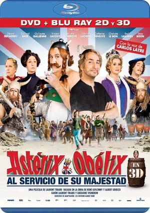 asterix y obelix al servicio de su majestad (blu-ray 2d+3d+dvd)-8422632036387