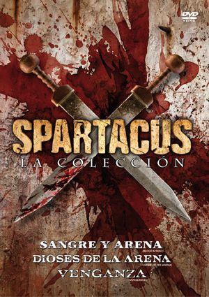 trilogia spartacus: dioses de arena+sangre y arena+venganza (dvd)-8420266967770