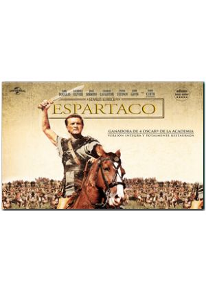 espartaco: ed.horizontal (dvd)-8414906322586