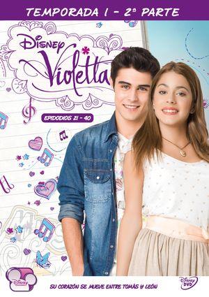 violetta. 1ª temporada - parte ii (dvd)-8421394541115
