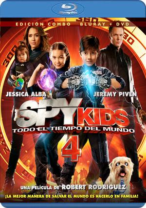 spy kids 4. todo el tiempo del mundo (blu-ray+dvd)-8420266979544