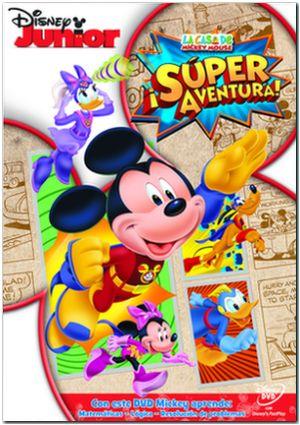 la casa de mickey mouse 28: ¡super aventura! (dvd)-8717418430184