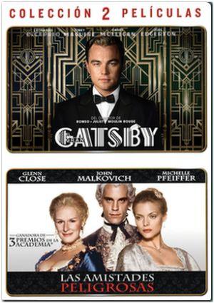 gran gatsby+amistades peligrosas (dvd)-5051893218282