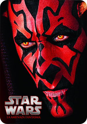 star wars i: la amenaza fantasma steelbook (blu-ray)-8420266975638