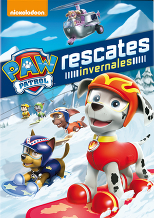 paw patrol: rescates invernales (dvd)-8414906890559