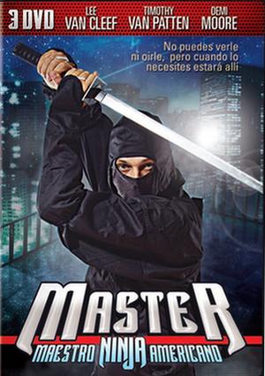 master. maestro ninja americano (dvd)-8436022324862