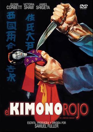 el kimono rojo (dvd)-8436022325487
