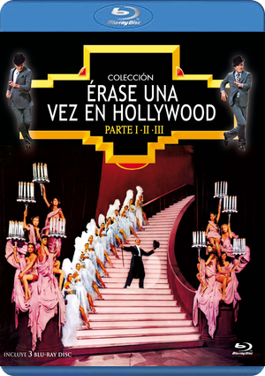 pack erase una vez en hollywood  i-ii-iii (blu-ray)-8436555531386