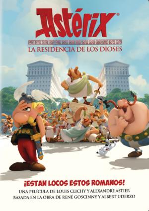 asterix: residencia de los dioses (dvd)-8420266001160
