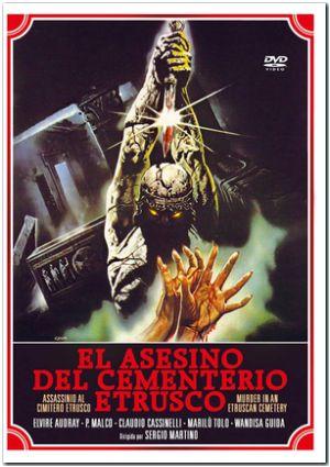 el asesino del cementerio etrusco (dvd)-8436022233294