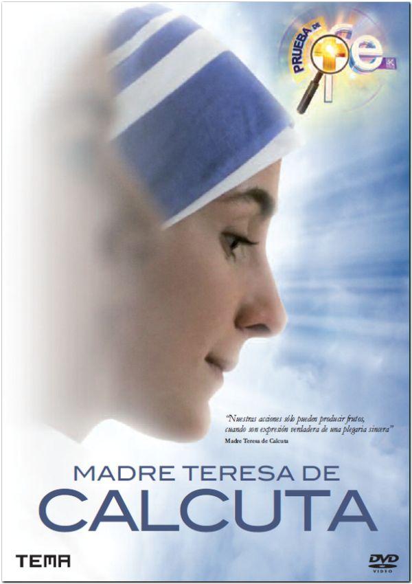 madre teresa de calcuta - dvd --8436533827869