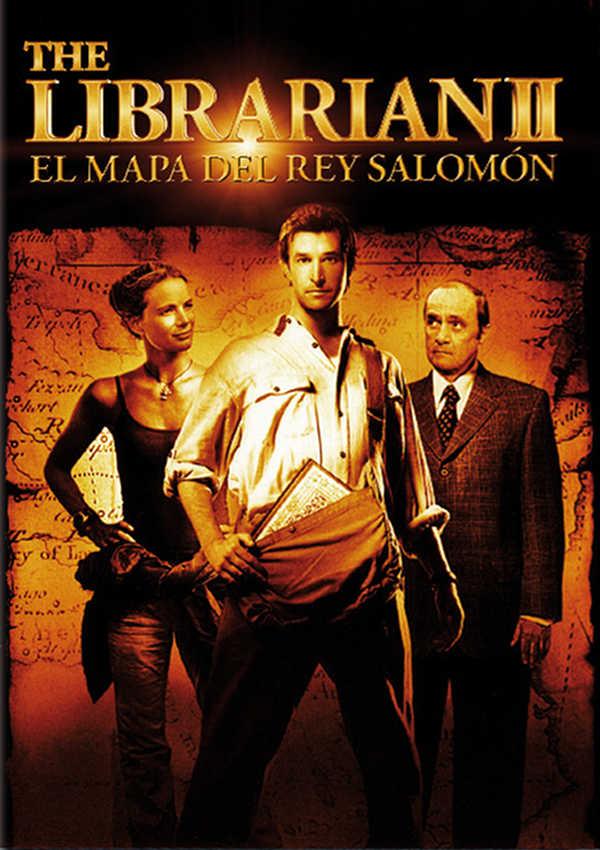 el bibliotecario. el mapa del rey salomon - dvd --8420266006219