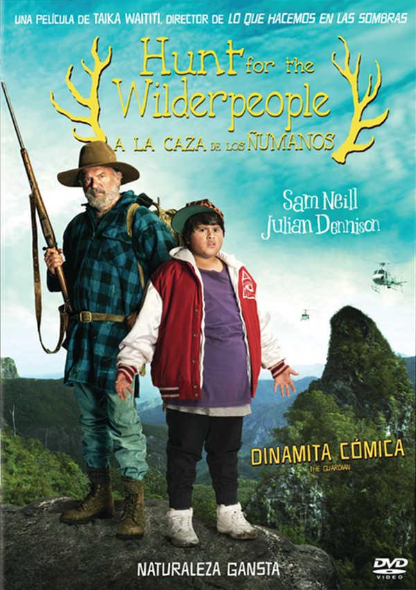 HUNT FOR THE WILDERPEOPLE: A LA CAZA DE LOS ÑUMANOS - DVD - de Taika ...