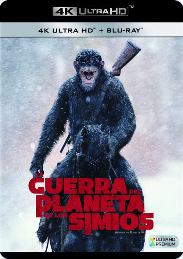 la guerra del planeta de los simios - 4k uhd + blu ray --8420266010698