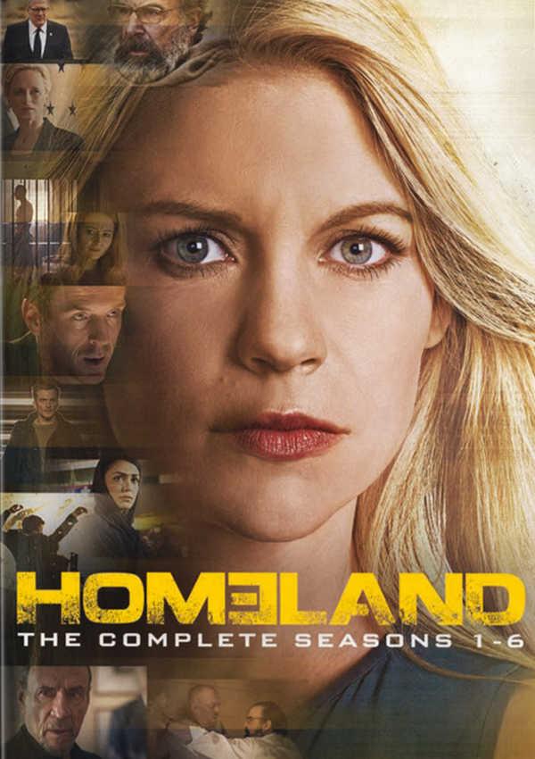 homeland - dvd - temporada 1-6-8420266010308
