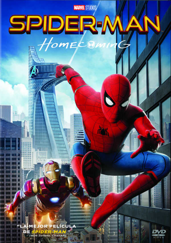 spider-man homecoming - dvd --8414533109048