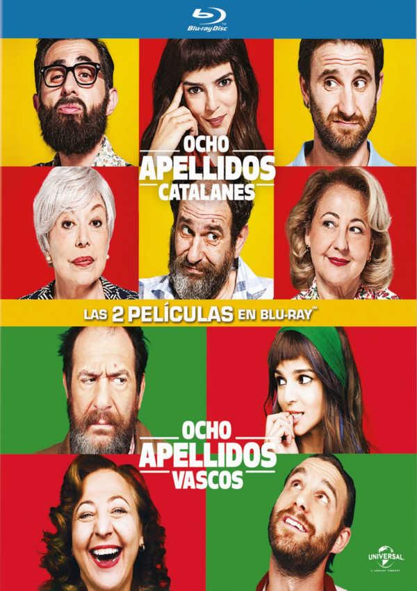 ocho apellidos vascos + catalanes - blu ray - ed.2017-8414533109222