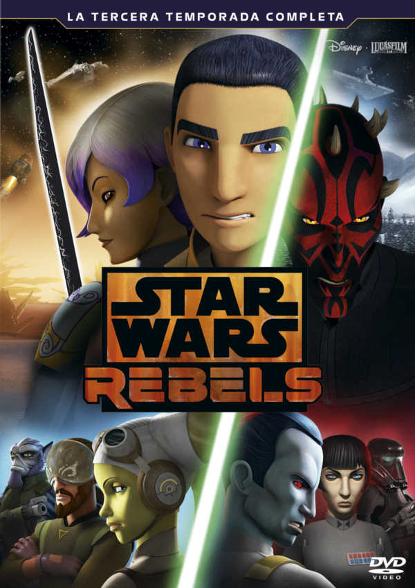 star wars rebels la tercera temporada completa - dvd --8717418509996