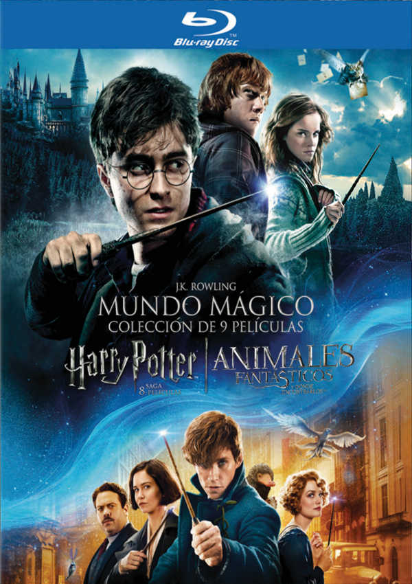 PACK HARRY POTTER (1-8) + ANIMALES FANTÁSTICOS - BLU RAY - de Chris ...