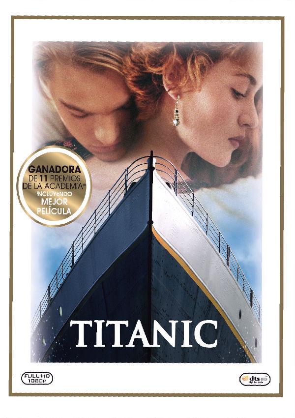 titanic (2012) - blu ray --8420266014290