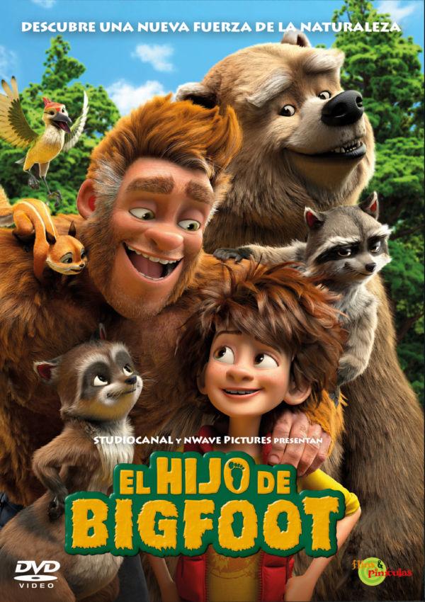 el hijo de bigfoot - dvd --8414533113519