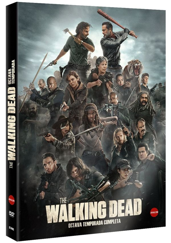 the walking dead - dvd - temporada 8-8436564165152