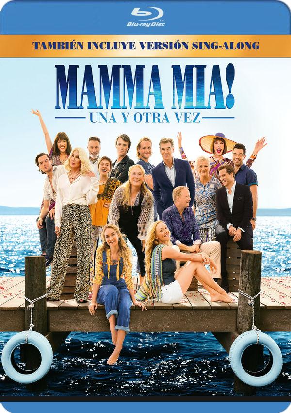 mamma mia! una y otra vez - blu ray --8414533117203
