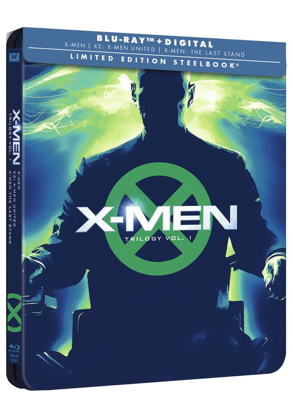 x-men trilogía original - blu ray - ed.steelbook-8420266017727