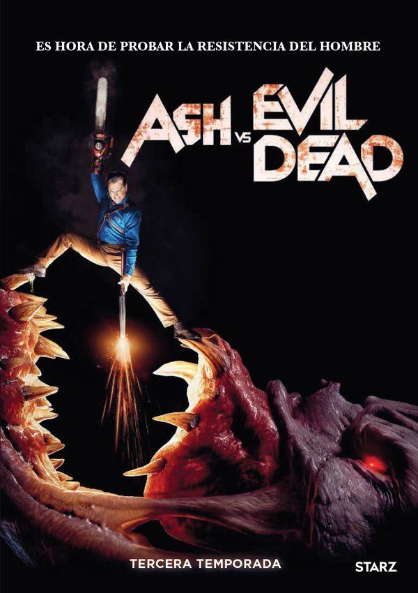 ash vs evil dead - dvd - temporada 3-8420266021090