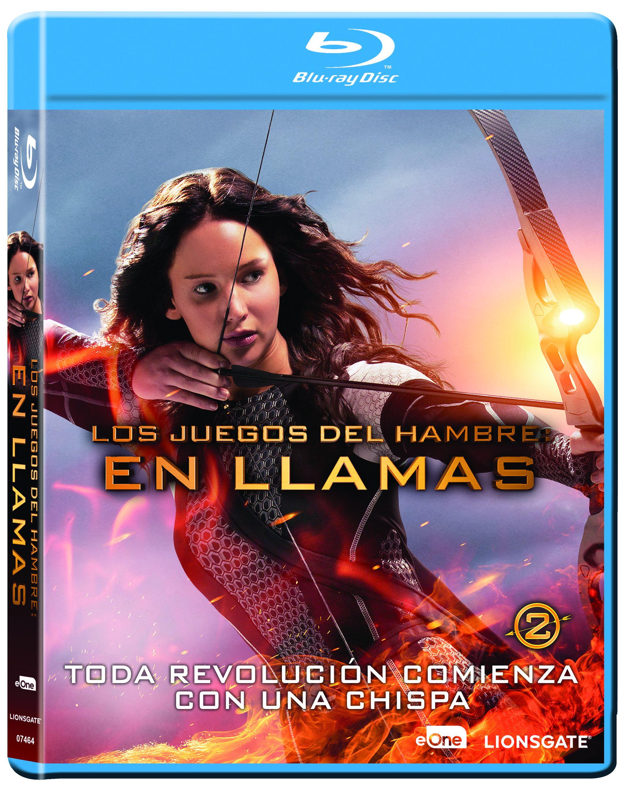 Los Juegos Del Hambre En Llamas Blu Ray De Francis Lawrence