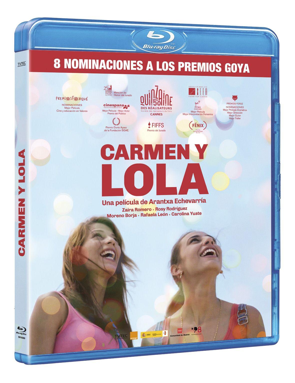 carmen y lola - blu ray --8437018193691
