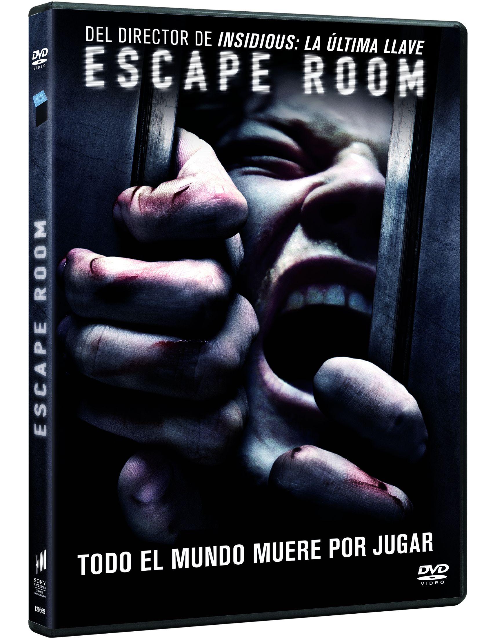 escape room - dvd --8414533120661