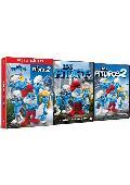 LOS PITUFOS 1+2 - DVD -